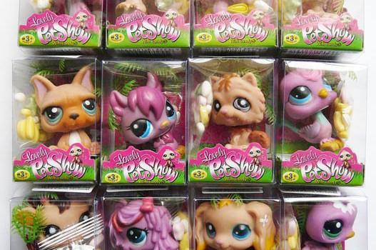 Nevyhovující hračka z Číny